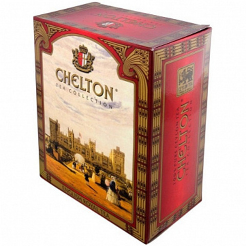 Çay \ Чай \ Black Tea Chelton English royal tea 250 q