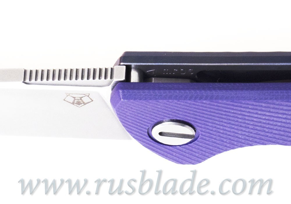 Shirogorov M390 HATI CLUB KNIFE - фотография