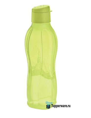 Бутылка - эко с клапаном 750мл. в салатовом цвете