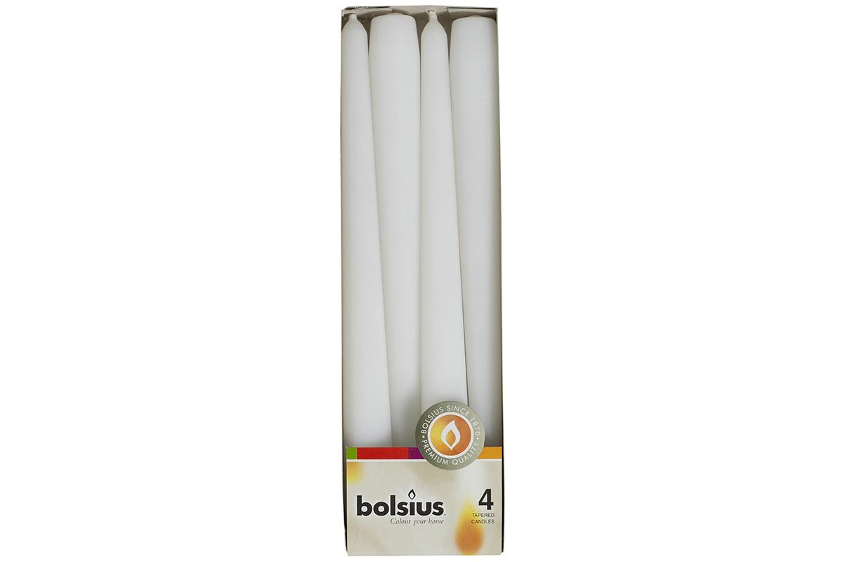 Свечи Набор свечей 4шт 24х24.5см Garda Decor белый 103600350902 TT-00001528_1.jpg