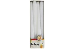 Набор свечей 4шт 24х24.5см Garda Decor белый 103600350902