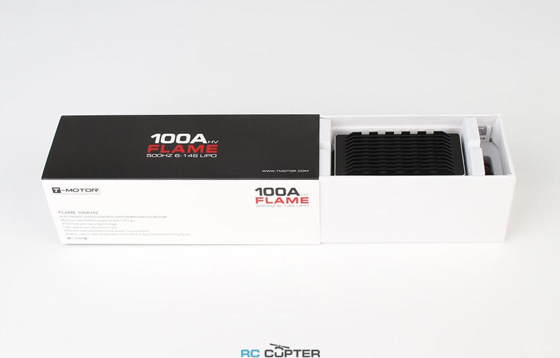ESC регулятор мотора T-Motor 100A Flame HV в упаковке