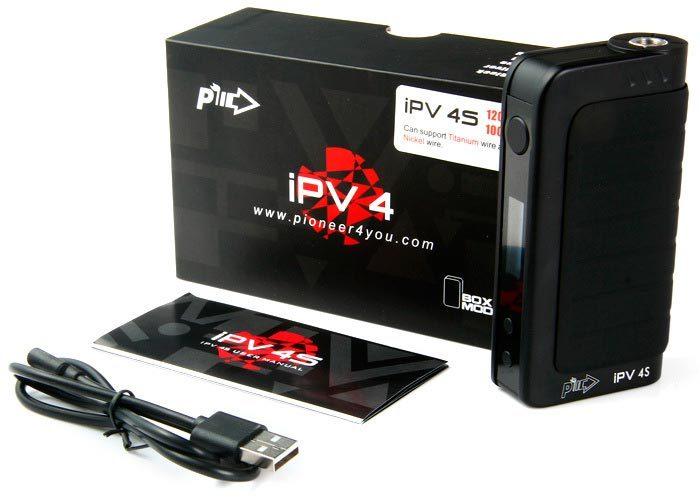 БОКСМОД Pioneer4you IPV 4S набор черный