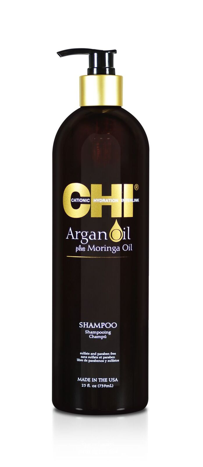 Шампунь CHI с экстрактом масла Арганы и дерева Моринга  739 мл new