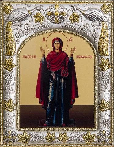 Икона Божья Матерь Нерушимая Стена 18x14см