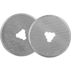 Лезвия сменные для промышленных ножей Attache 28 мм круглые (3 штуки в упаковке)