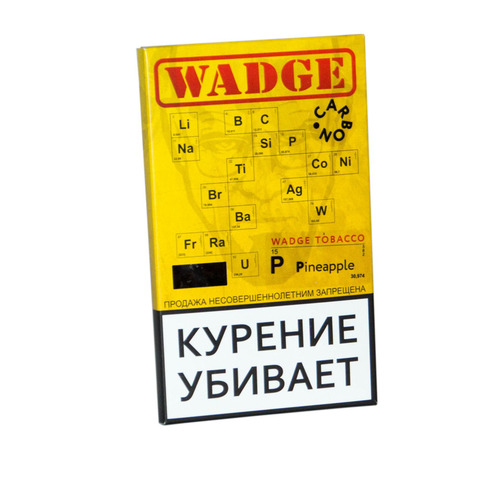 Табак WADGE CARBON 100gr Pineapple