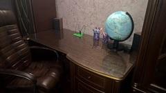 Мягкое стекло на письменном столе 60х120см