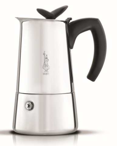 Кофеварка Bialetti Musa 0.15л нерж.сталь серебристый (4272)
