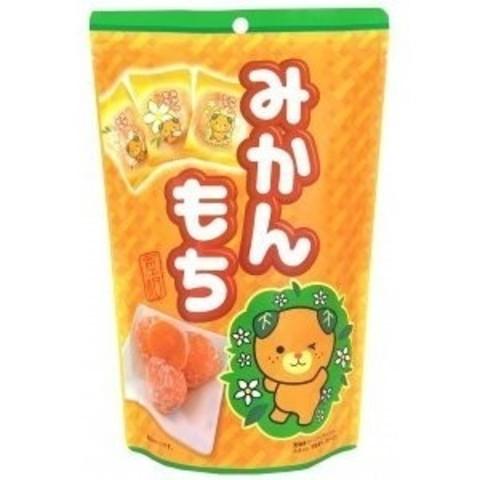 Моти дайфуку Kubota Seika со вкусом мандарина и цукатами 10 шт 130 гр