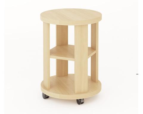 Стол кофейный СКФ дуб беленый