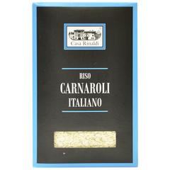 Рис Casa Rinaldi среднезёрный обрушенный не полированный Карнароли 1кг