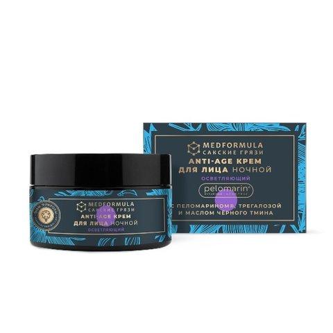 Ночной крем для зрелой кожи лица «ANTI-AGE Осветляющий»™Дом Природы