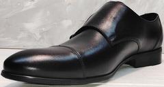 Красивые туфли мужские демисезонные Ikoc 2205-1 BLC.