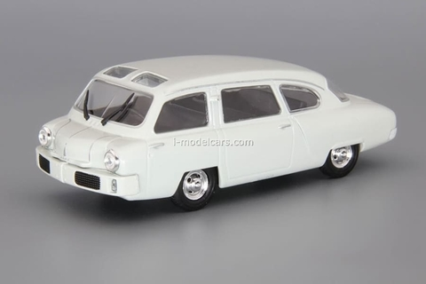 NAMI-013 1949-1953 gray 1:43 DeAgostini Auto Legends USSR #239