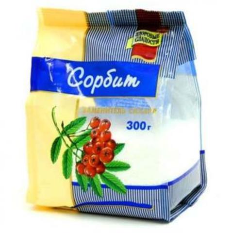 Сахарозаменитель Сорбит 300 гр РОССИЯ