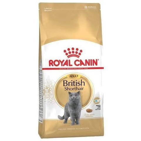 Корм Royal Canin British Shorthair Сухой корм для взрослых кошек британской короткошерстной породы 2 кг