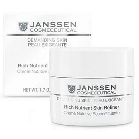 Janssen Demanding Skin: Обогащенный дневной питательный крем для лица (SPF 15) (Rich Nutrient Skin Refiner)
