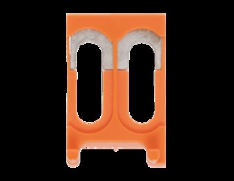 QVS 2 мостиковая перемычка оранжевого цвета арт 2197.0