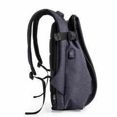Рюкзак антивор молодёжный для ноутбука 17 Tangcool 701 синий