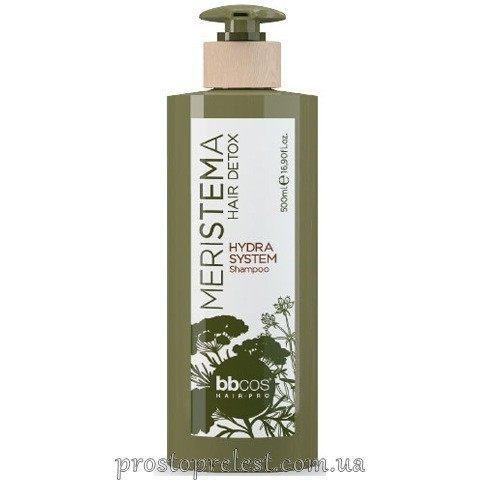 BBcos Meristema Hydra System Shampoo - Шампунь зволожуючий на основі стовбурових клітин