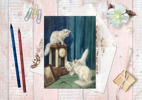 Коты и часы