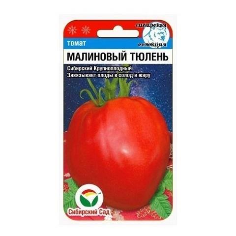 Малиновый тюлень 20шт томат (Сиб Сад)