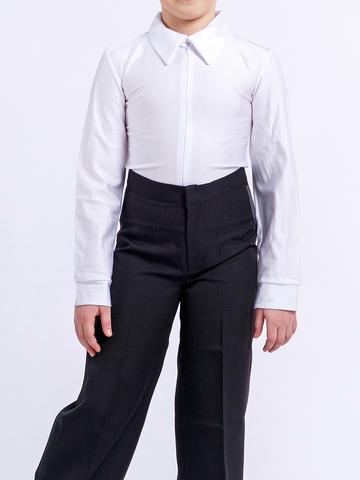 Детская рубашка-боди белая для танцев