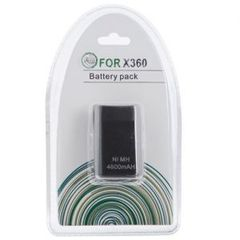 Slim Battery pack 4800mAH Black (Xbox 360)