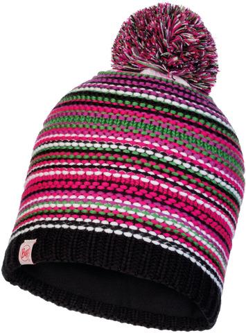 Шапка вязаная с флисом детская Buff Hat Knitted Polar Amity Multi фото 1
