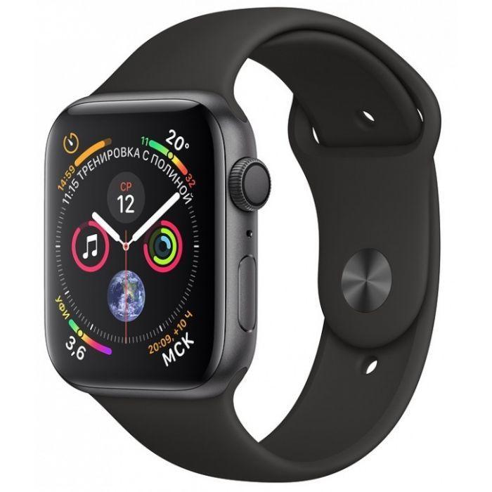 Apple Watch Series 4 Apple Watch Series 4, 44мм, «серый космос» black1.jpg