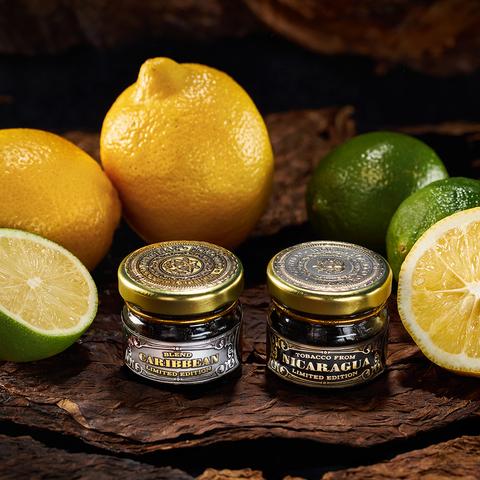 Табак WORLD TOBACCO ORIGINAL (WTO) Nicaragua Lemon Lime (Лимо Лайм Никарагуа) 20 г