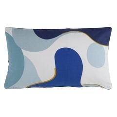Подушка декоративная 30х50 Tkano Freak Fruit синяя