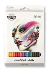 Карандаши цветные FANTASY 3555, 36 цветов