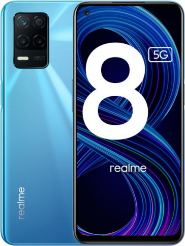 "Realme 8 5G Realme 8 ""5G"" 4/64GB Blue (синий) blue1.jpeg"