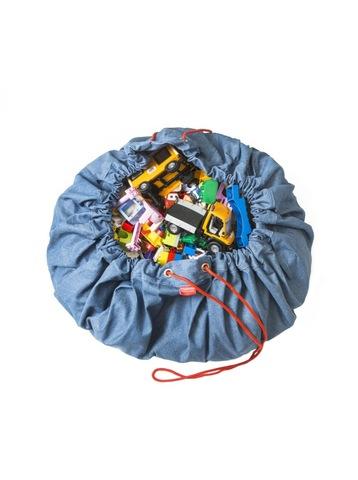 Коврик-мешок для игрушек (2 в 1) Play&Go Classic ДЖИНСЫ 79971