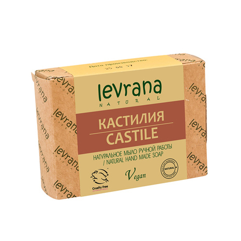 Levrana, Кастилия, Натуральное мыло ручной работы, 100гр