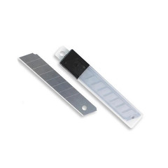 Лезвия сменные для канцелярских ножей Attache 18 мм сегментированные (10 штук в упаковке)