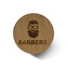 Щітка для бороди Barbers Round Beard Brush (5)