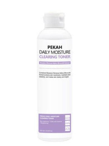 Pekah Очищающий тонер для лица с экстрактом спаржевой капусты Daily Moisture CLEARING  TONER, 250 ml
