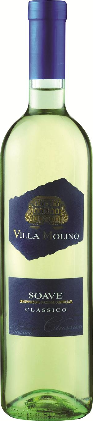 Вино Вилла Молино Соаве Классико белое полусухое 0,75л
