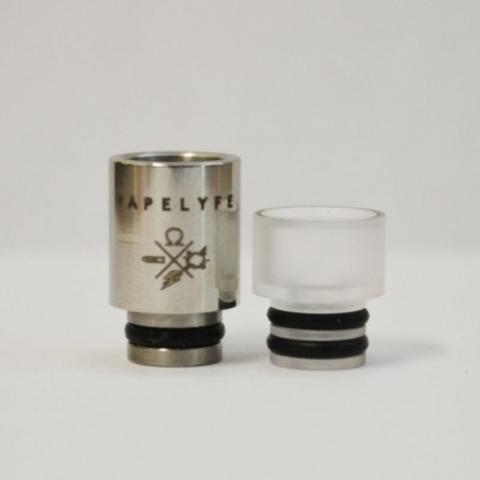 Drip-Tip Vapelyfe SS+Acrylic