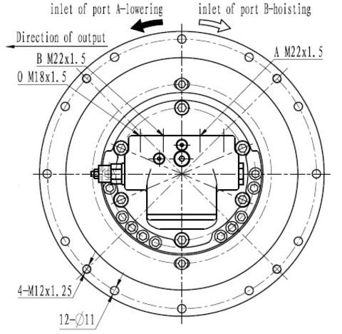 Стандартная лебедка IYJ22-17-83-10-ZPN