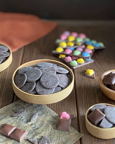 Какао тертое в дисках (Fino de Aroma), Колумбия