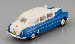 GAZ-12 ZIM Ambulance Leningrad 1956 DIP 1:43