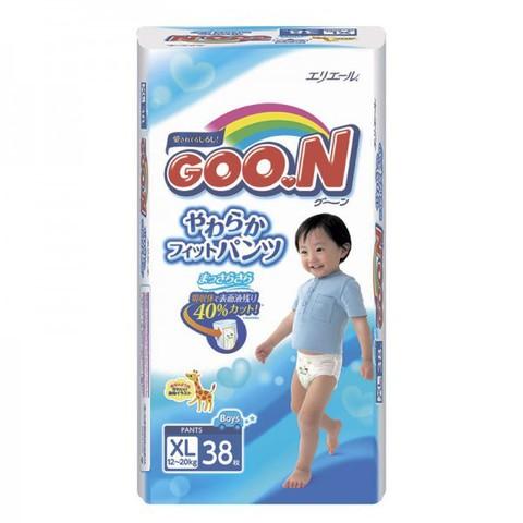 """Трусики-подгузники """"Goon"""" японские для мальчиков размер XL (вес 12-20кг) 38шт"""