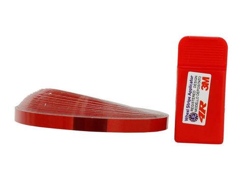 Стикеры для обода колеса - красный