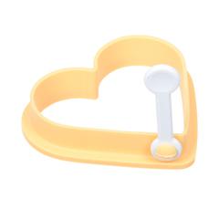 Форма силиконовая для выпечки яиц и блинчиков «Сердце» 10х9х2 см