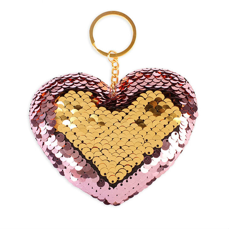 Хит продаж Брелок Сердце с двусторонними пайетками 1039efd1cfd69a480b14961d53a29ea1.jpg