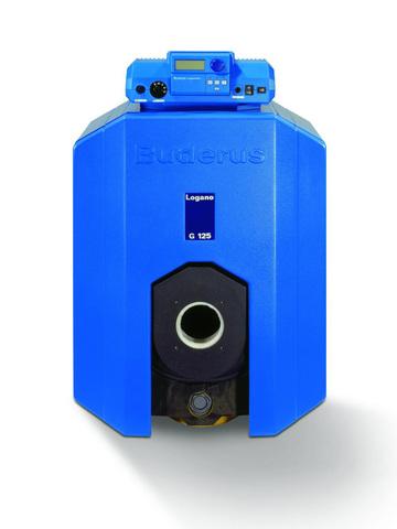 Котел комбинированный Buderus Logano G125 WS - 40 кВт (одноконтурный, без системы управления)